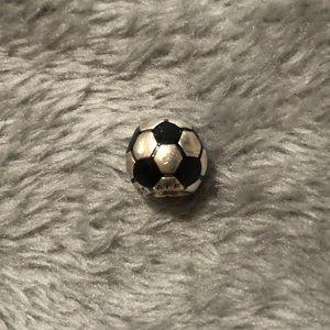 Retired Soccer Pandora Charm